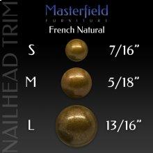 French Natural Nail Head Trim