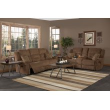 Power Dual Recliner Console Loveseat