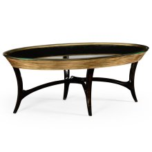 Stepped Gilded Coffee Table