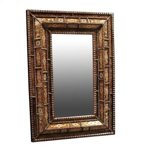 Emily Mirror with Painted Glass