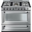 """Free-standing All-Gas """"Victoria"""" Range 36"""" - Stainless steel Product Image"""