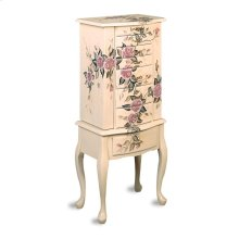 Coaster Accents Traditional Off-white Jewelry Armoire