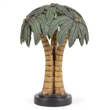 Palm Tree Shade Novelty Table Lamp