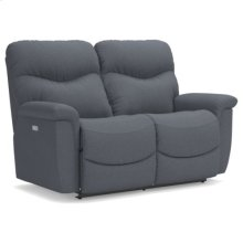 James Power Reclining Loveseat
