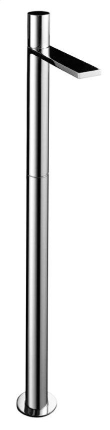 Floor-mount washbasin mixer