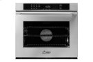 """Heritage 30"""" Single Wall Oven, Silver Stainless Steel with Epicure Style Handle Product Image"""