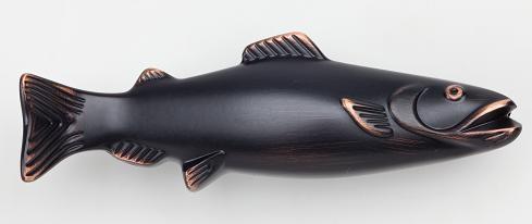 Fish Pull 3 Inch (c-c) - Venetian Bronze