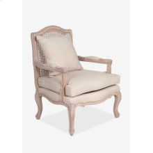 Adele Occasional Chair With Wood Frame (28x28x38,4)