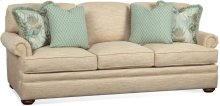 BC Options Kensington Panel Arm, Knife Edge Back Pillow, Bun Foot Sofa
