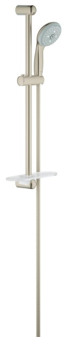 New Tempesta 100 Shower Rail Set 4 Sprays