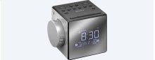 Clock Radio with Time Projector