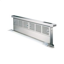 """Stainless Steel 30"""" Wide Rear Downdraft with Controls on Intake Top - VIPR (30"""" width)"""