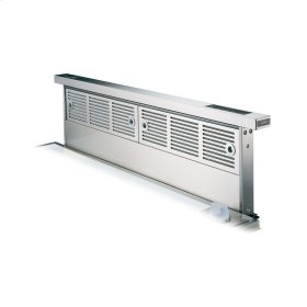 "Stainless Steel 30"" Wide Rear Downdraft with Controls on Intake Top - VIPR (30"" width)"