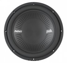 """DB+ Series 12"""" Single Voice Coil Subwoofer with Marine Certification in Black"""