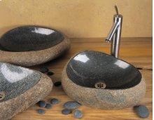 Natural Wabi Sink Natural Boulder / Standard