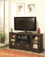 "60"" Mahogany Entertainment Console Product Image"