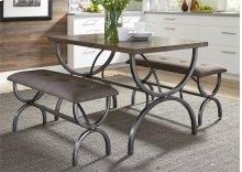 3 Piece Rectangular Table Set