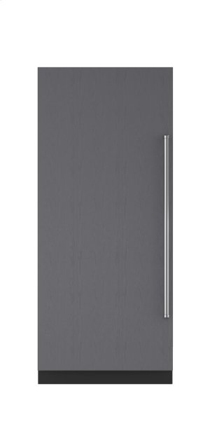 "36"" Integrated Column Refrigerator with Internal Dispenser - Panel Ready"