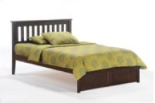Rosemary Bed in Dark Chocolate Finish