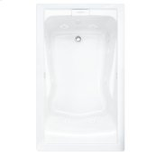 Evolution 60x36 Inch Deep Soak Combo Massage System - White