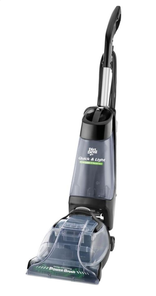 Quick & Light™ Carpet Washer with Power Brush