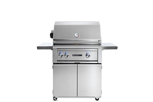 """30"""" Sedona by Lynx Freestanding Grill with 1 Stainless Steel Burner and ProSear Burner and Rotisserie, NG"""