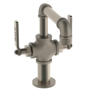 """Single Hole Lavatory Faucet W/4"""" Extension"""