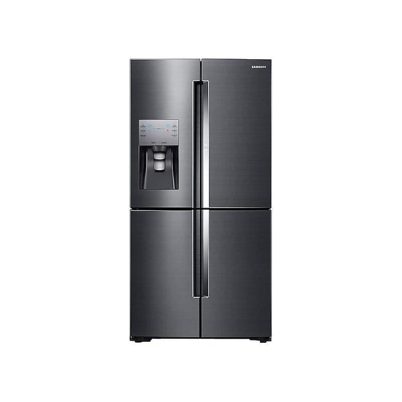 22 cu. ft. Food Showcase Counter Depth 4-Door Flex™ Refrigerator with FlexZone™ in Black Stainless Steel