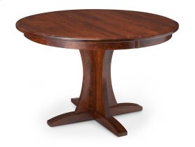 Grace Single Pedestal Table, 1 Leaf