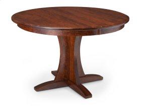 Grace Single Pedestal Table, 2 Leaf