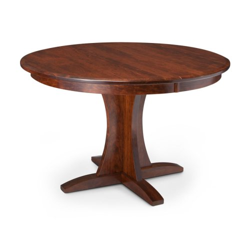 Grace Single Pedestal Table, 2 Leaf