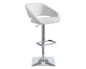 Gustavo Adjustable Barstool - Snow