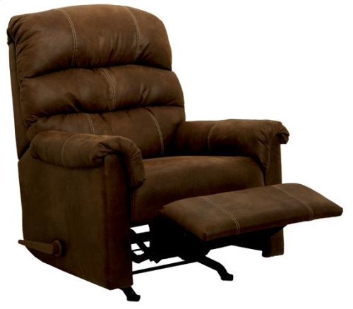 Rocker Recliner - Chocolate