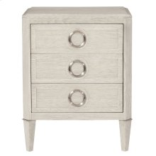 Domaine Blanc Nightstand in Dove White (374)