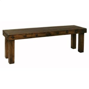 4 ft. Laguna Bench with Wood Seat