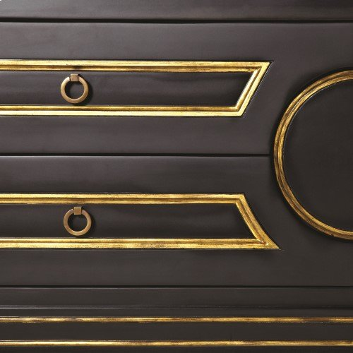 Collector's Cabinet-Console-Black