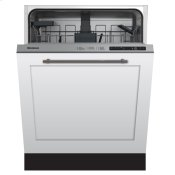 """24"""" ADA height dishwasher 5 cycle top control fully integrated panel overlay 48 dBA"""