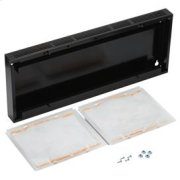 """30"""" Non-Duct Kit in Black Product Image"""