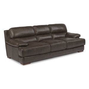 FLEXSTEELJade Leather Sofa
