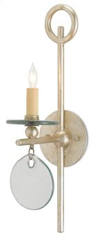 Sethos Silver Wall Sconce Product Image