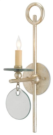 Sethos Silver Wall Sconce