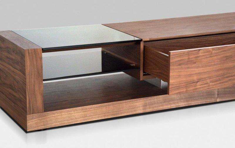 Vgbble613fwal In By Vig Furniture In Modrest Mali Modern Walnut Tv