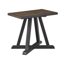 Timber and Tanning Chair Side End Table