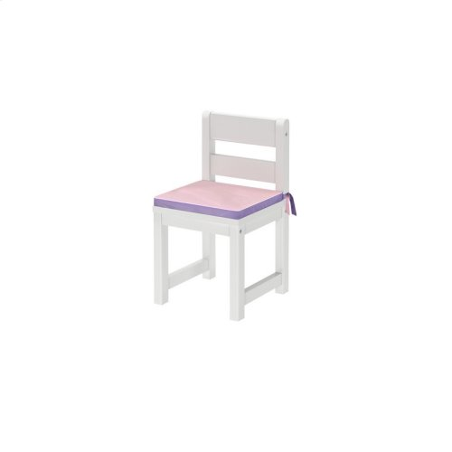 Small Chair Seat Pad : Purple/Pink