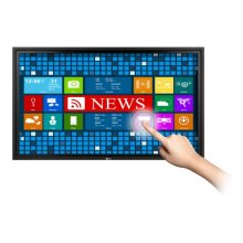 """55"""" class (54.64"""" diagonal) LG IR Spread based Ghosting Free Multi-Touch Display"""