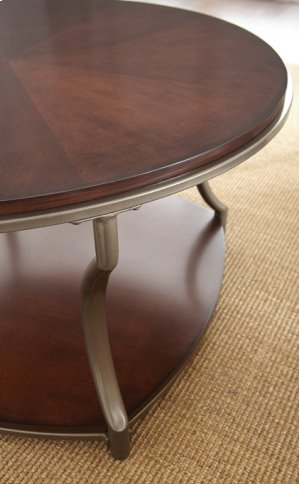 """Maryland Round End Table 22"""" x 22"""" x 25"""""""