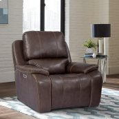 Potter Walnut Power Recliner