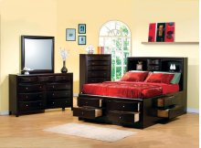 Ca King 5pc Set (KW.BED,NS,DR,MR,CH)