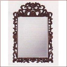 Mirror UCI7272 Mahogany