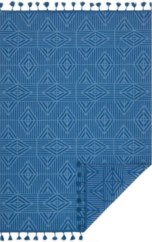 Blue / Lt. Blue Rug